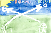 dessin double drapeaufw